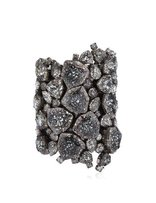ON AURA TOUT VU | Черный Patina Cuff Bracelet