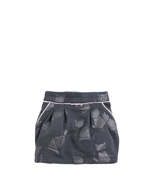 Little Marc Jacobs | Серый Burnout Cotton Mini Skirt