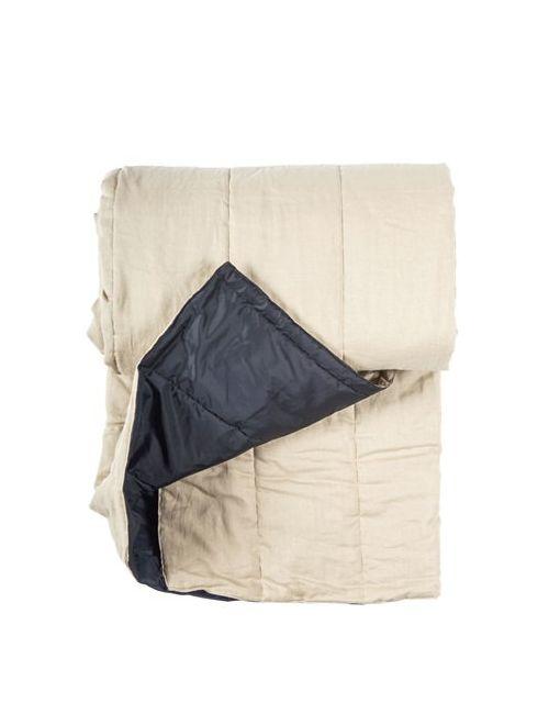 ONCE MILANO | Бежевый Handmade Linen Picnic Blanket