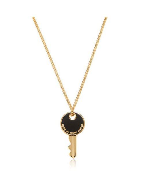 Marc by Marc Jacobs | Золотой Enameled Brass Key Pendant Necklace