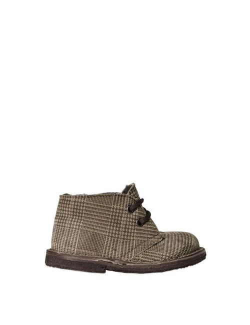 Pèpè | Коричневый Prince Of Wales Printed Suede Shoes