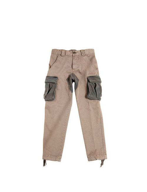 THE RAJ OF INDIA | Mud Stretch Cotton Gabardine Cargo Pants