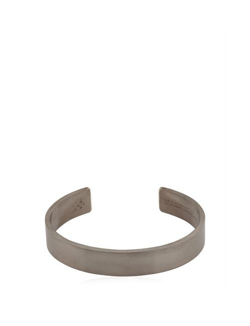 Le Gramme | Чёрный Le 33 Brushed Silver Bracelet