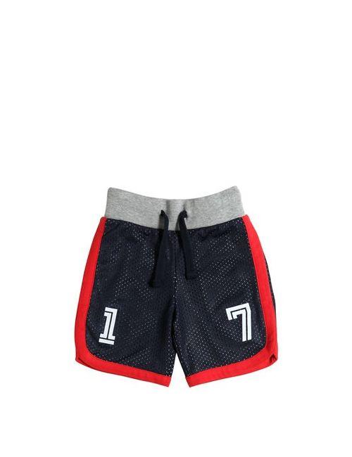 HYDROGEN KID | Mesh Cotton Jersey Jogging Shorts