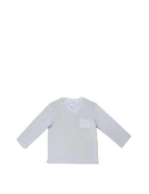 Così Com'È | Серый Organic Cotton Jersey Sweatshirt