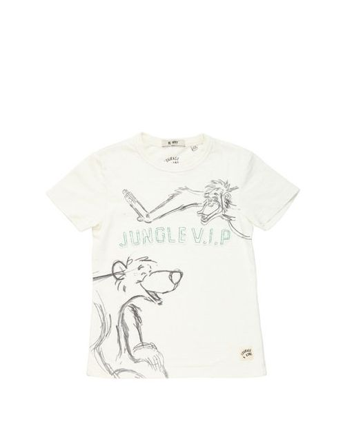 COURAGE&KIND | Белый Jungle V.I.P Cotton Jersey T-Shirt