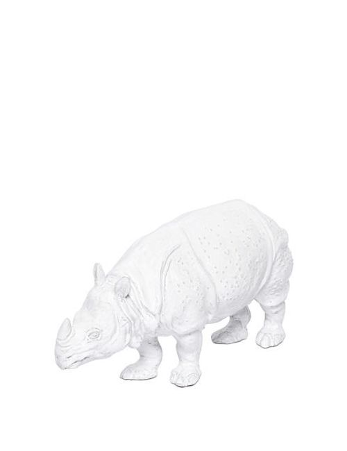 CERAMICHE PUGI | Белый Ceramic Rhinoceros