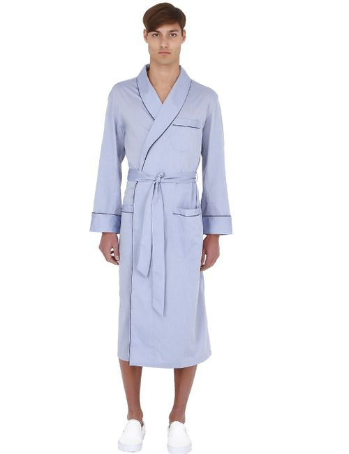 Brooks Brothers | Синий Pure Cotton Robe