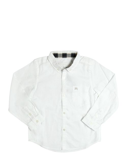 Burberry | Белый Cotton Poplin Shirt