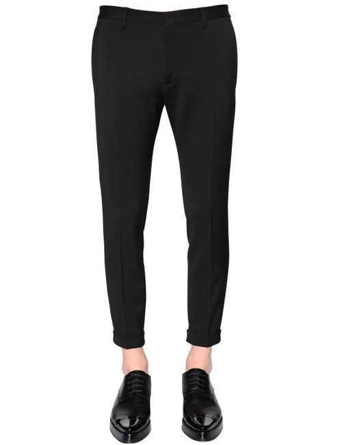 Dsquared2 | Черный 15cm Skinny Stretch Wool Cady Pants