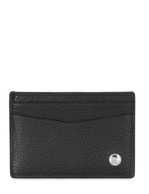 Dunhill | Чёрный Vegetable Tanned Leather Card Holder