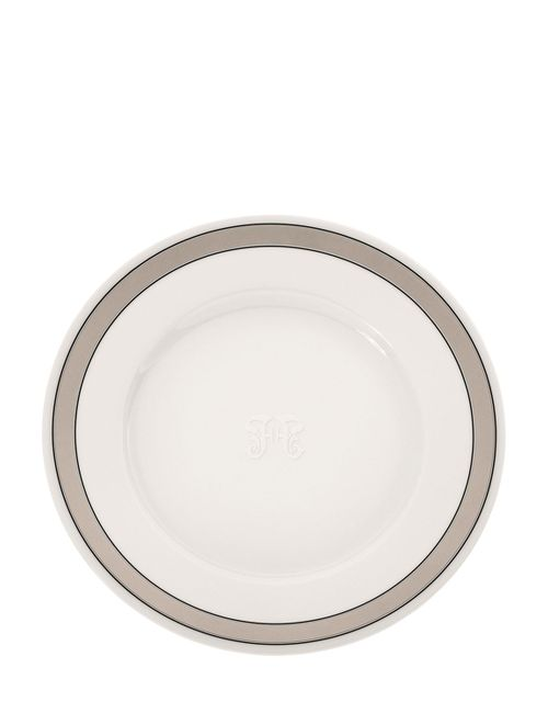 GIANFRANCO FERRÉ HOME | Белый Galles Set Of 6 Porcelain Dinner Plates