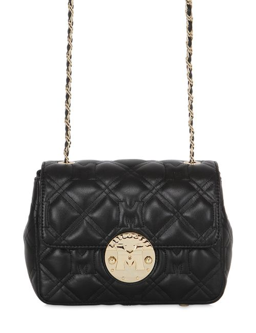 METROCITY | Чёрный Quilted Leather Shoulder Bag