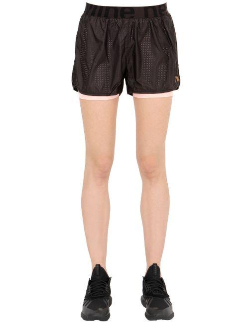 NEWLINE | Чёрный Imotion Layered Running Shorts