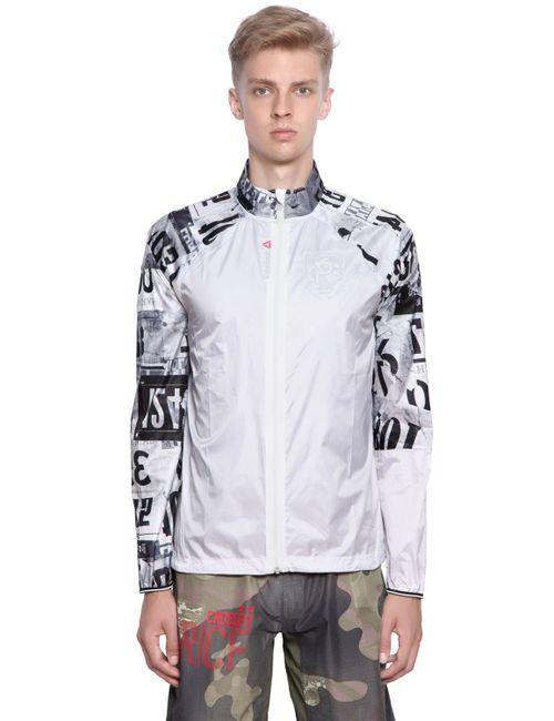 Reebok | Чёрный Cross Fit Printed Light Nylon Jacket