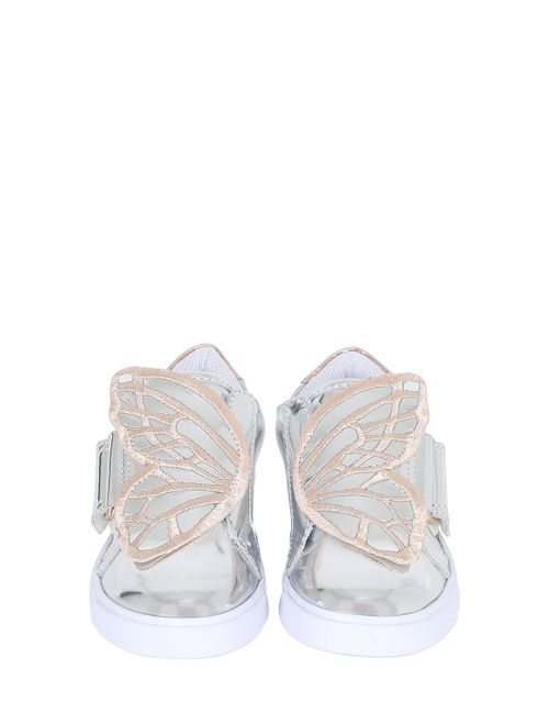 Sophia Webster | Золотой Embroidered Wing Leather Sneakers