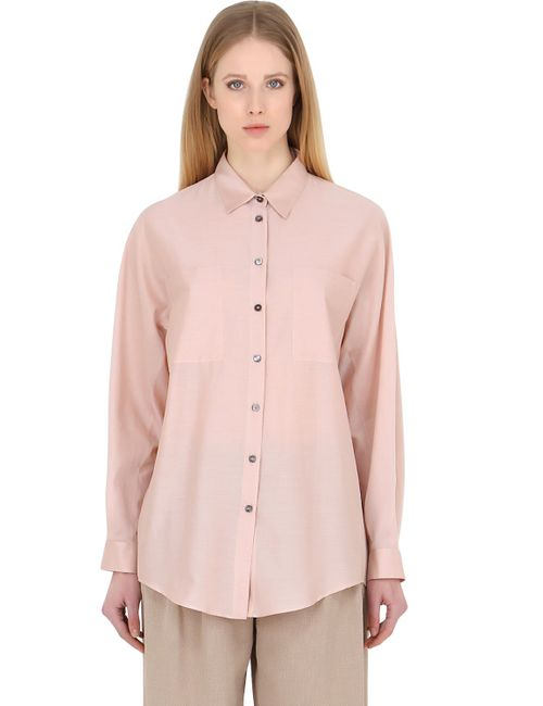 Trussardi | Розовый Cotton Poplin Shirt