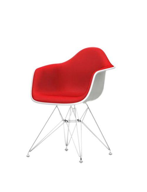 VITRA | Белый Eames Dar Plastic Armchair