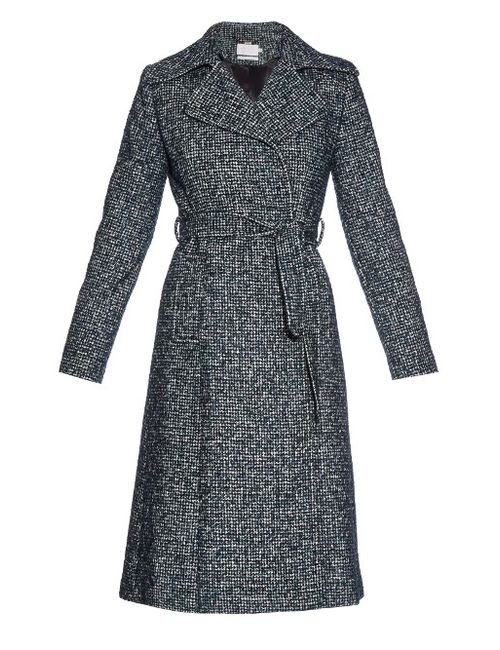 Goat | Зелёный Astoria Wool-Blend Tweed Coat