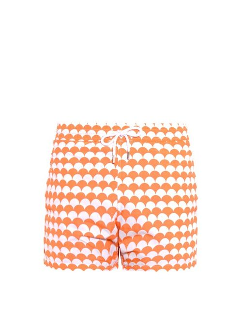 FRESCOBOL CARIOCA | Мужское Оранжевый Sports Noronha-Print Swim Shorts
