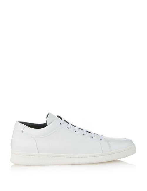 Balenciaga | Мужское Белый Urban Low-Top Leather Trainers