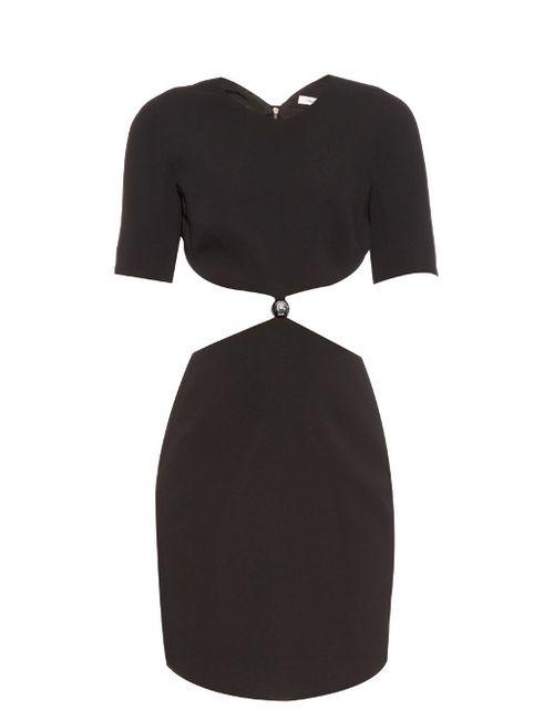 Mugler | Женское Черный Cut-Out Cady Dress
