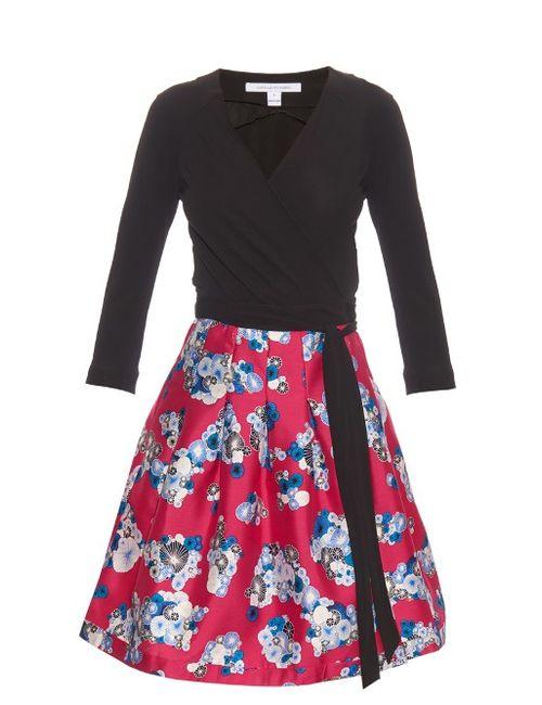 Diane Von Furstenberg   Женское Черный Jewel Dress