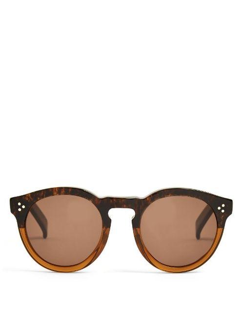 ILLESTEVA | Мужское Коричневый Leonard Bi-Colour Sunglasses