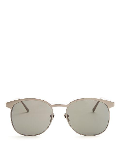 Linda Farrow | Мужское Серый D-Frame Platinum Sunglasses
