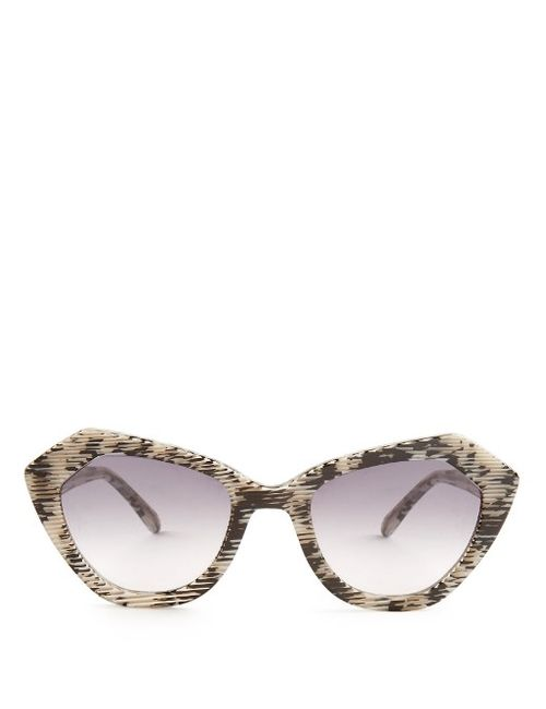Prism | Leopard Bilbao 3-D Print Sunglasses