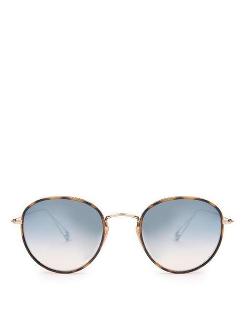 GARRETT LEIGHT | Мужское Золотой Paloma Round-Frame Sunglasses