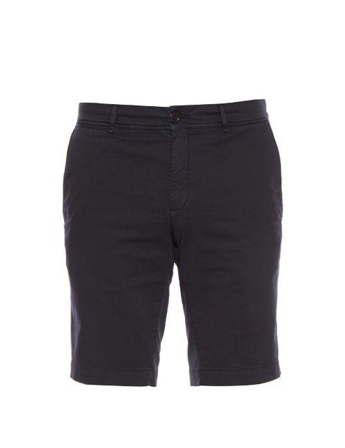 Moncler   Classic Stretch-Cotton Chino Shorts
