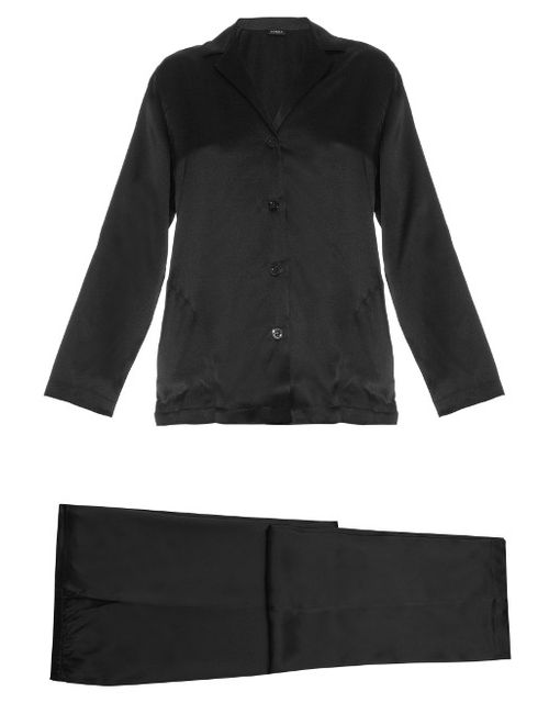 La Perla | Silk-Satin Pyjama Set