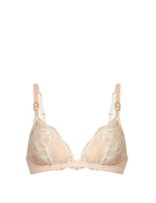 Stella Mccartney | Розовый Julia Stargazing Underwired Bra