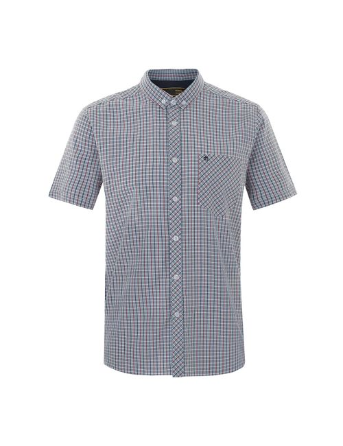 Merc London | Мужская Серая Рубашка Tybee