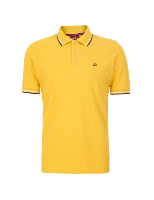 Merc London | Жёлтая Рубашка Поло Card