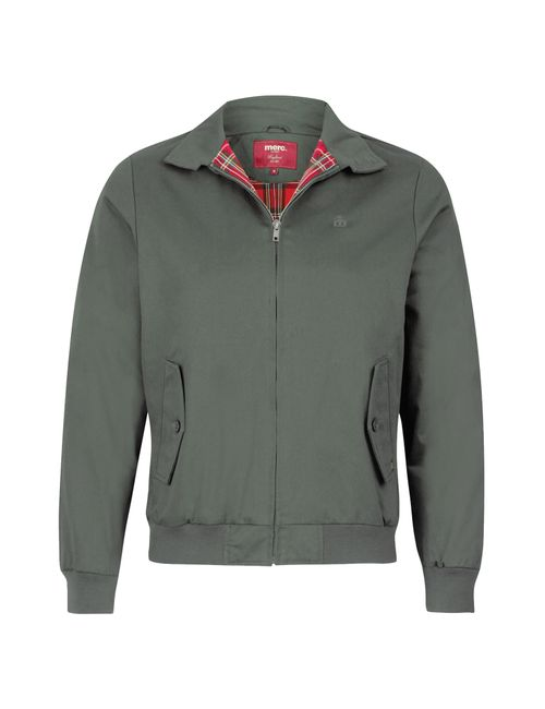 Merc London | Мужская Серая Куртка Harrington