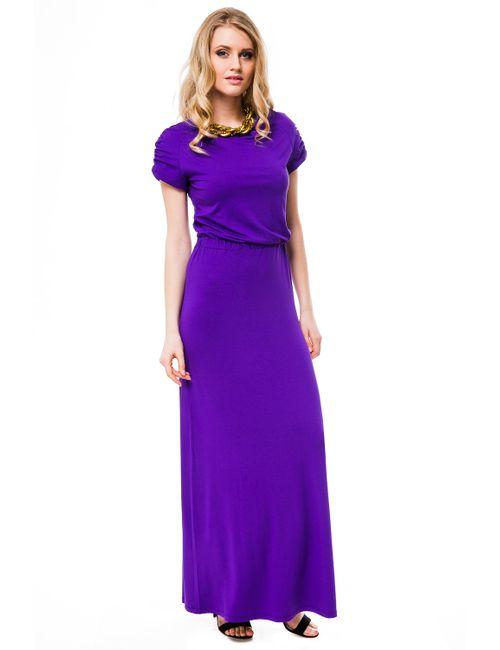 Mondigo | Женское Фиолетовое Платье 7042