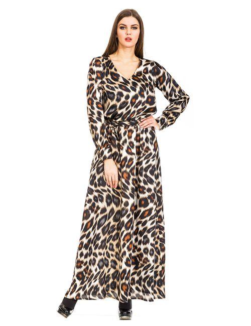 Mondigo   Женское Коричневое Платье 5171