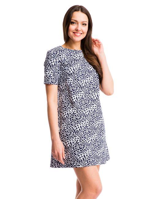 Mondigo | Женское Синее Платье 6126-2