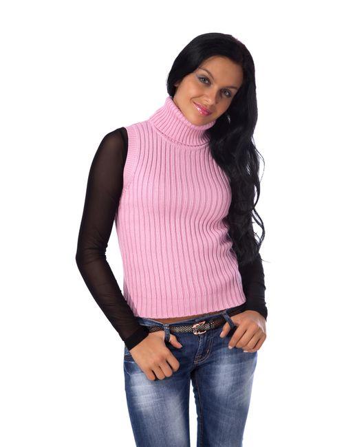 Mondigo | Женский Розовый Жилет 9008-63