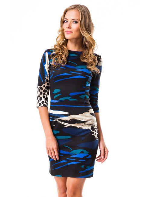 Mondigo   Женское Синее Платье 5081