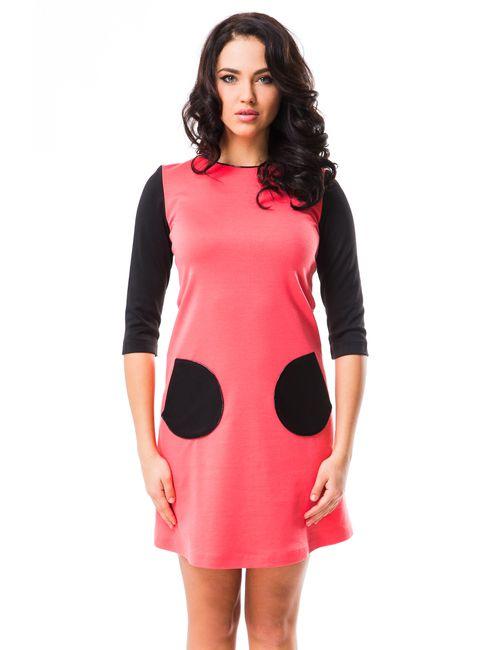 Mondigo | Женское Розовое Платье 5065