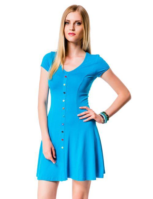 Mondigo | Женское Бирюзовое Платье 7055