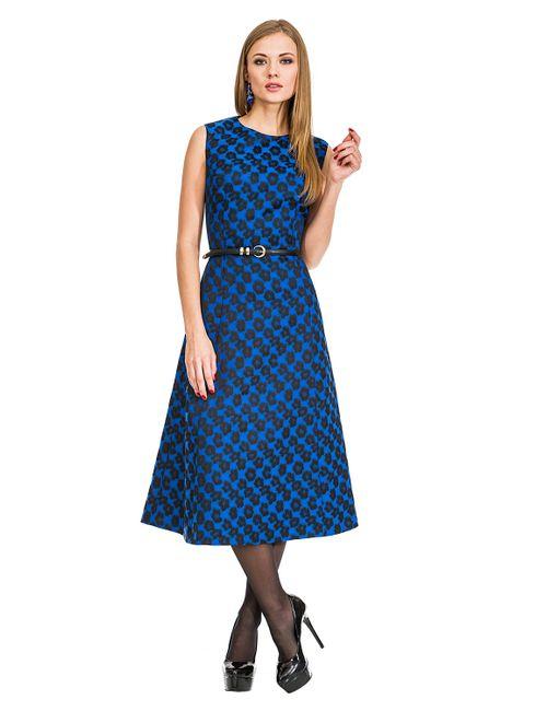 Mondigo | Женское Синее Платье 5176
