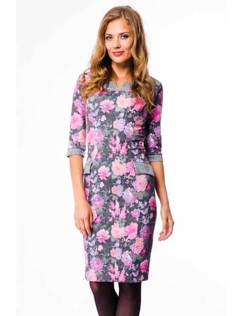 Mondigo | Женское Серое Платье 5130