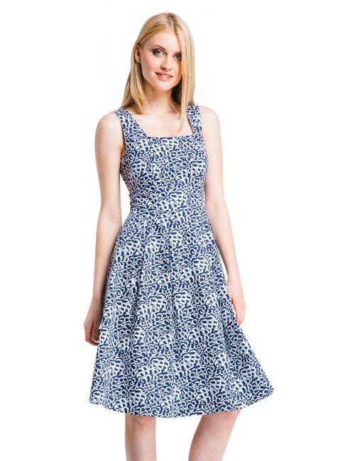 Mondigo | Женское Синее Платье 5219