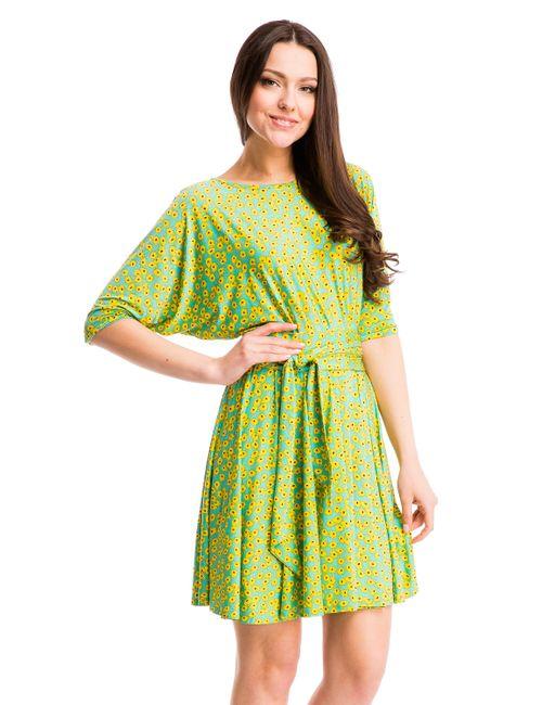 Mondigo | Женское Жёлтое Платье 7060-1