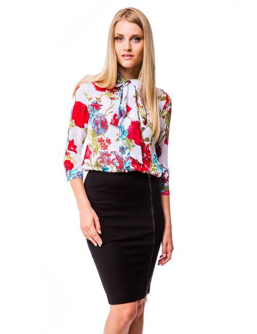 Mondigo | Женская Белая Блузка 5100-5