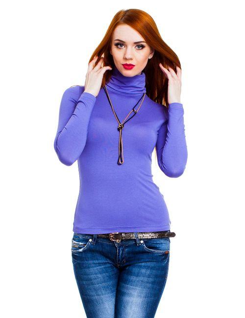 Mondigo | Женская Фиолетовая Водолазка 046